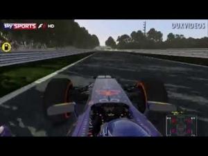 rFactor 2 Sebastian Vettel Monza 2013 First Laps