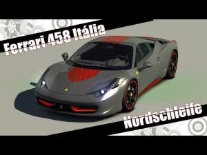 Assetto Corsa Ferrari 458 Itália  Nordschleife