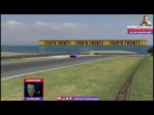 #iRacing 2014S2W4 GT3 Challenge at Phillip Island BMW