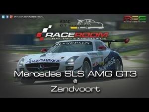 ADAC GT Masters Experience | Hotlap | Mercedes-Benz SLS AMG GT3 | Zandvoort