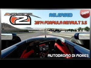 rFactor 2 - 2014 Formula Renault 3.5 - Released @ Mores