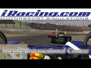Iracing - Nice fight to place 3 - Suzuka - Spec Racer Ford
