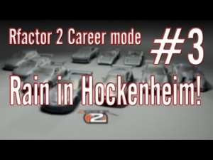 Rfactor 2 Career mode: #3 Rain in Hockenheim!