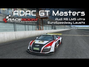 R3E - ADAC GT Masters - Audi R8 LMS ultra @EuroSpeedway Lausitz [HD]