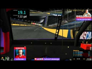 2014 Coke 600 Round 12 Charlotte #iRacing NASCAR Fixed Series Pt.1