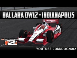 rFactor 2 | Dallara DW12 - Indianapolis | Hotlap + Replay | HD