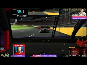 2014 Coke 600 Round 12 Charlotte #iRacing NASCAR Fixed Series Pt.2