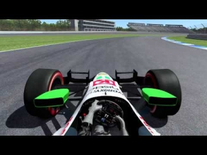 rFactor 2 IndyCar DW12 @ Indianapolis Road Course 2014