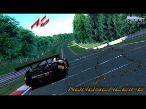 Lap @Nürburgring Nordschleife McLaren MP4 12C GT3