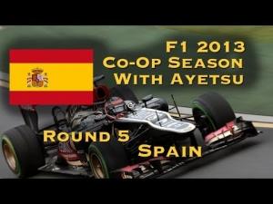 F1 2013 Season w/Ayetsu :: R5 Spain