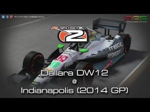 rFactor 2 | Dallara DW12 | Indianapolis GP 2014 | IndyCar