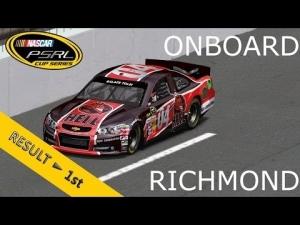 PSRL NASCAR 2013 | Richmond | Balazs Toldi Onboard