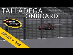 PSRL NASCAR 2013   Talladega Superspeedway   Balazs Toldi Onboard