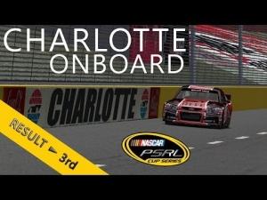 PSRL NASCAR 2013 | Charlotte | Balazs Toldi OnBoard
