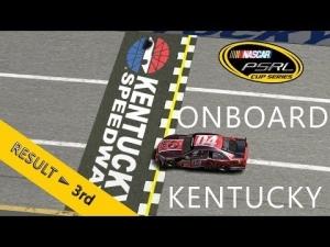 PSRL NASCAR 2013 | Kentucky | Balazs Toldi OnBoard