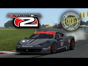 rFactor 2 [HD++] ★ Ferrari 458 Challenge @ Croft Circuit