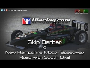 iRacing | Skip Barber | New Hampshire Motor Speedway - Road with South Oval