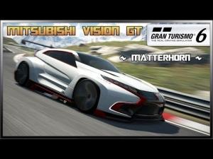 GT6 - Mitsubishi Vision GT (NEW) @ Matterhorn - Replay