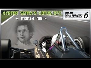 GT6 - Ayrton Senna's Lotus 97T (NEW) @ Monza '85