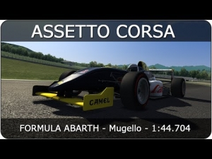Assetto Corsa   Formula Abarth - Mugello   1:44.704
