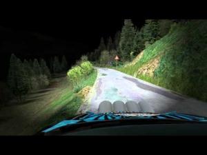 RSRBR 2014 - Ford Fiesta RS WRC onboard - Mlynky (night)