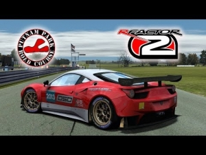 rFactor 2 [HD++] ★ NEW Ferruccio EGT (Ferrari 458 GT2) @ Putnam Park