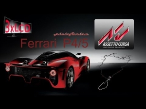 Assetto Corsa 3xLCD RING experience with Pininfarina P4/5
