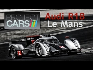 Project CARS Audi R18 evening at LeMans 3xLCD
