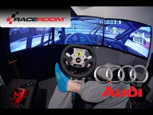 Drive it like you stole it - Raceroom Experience 3xLCD