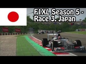F1XL Season 5 - Race 3. Japan