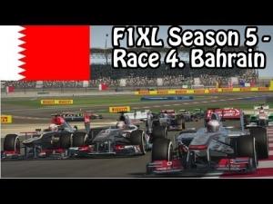 F1XL Season 5 - Race 4. Bahrain