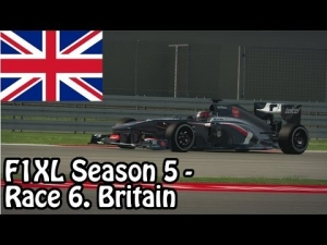 F1XL Season 5 - Race 6. Great Britain