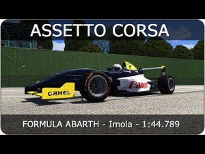 Assetto Corsa | Formula Abarth - Imola | 1:44.789