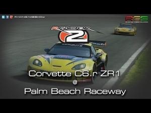 rFactor 2 | Corvette C6.r ZR1 | Palm Beach International Raceway | Quality Mods