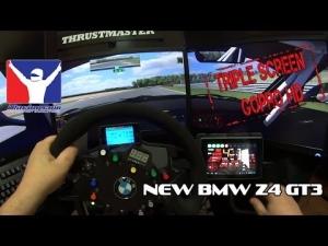 iRacing - NEW BMW Z4 GT3 @ Zolder
