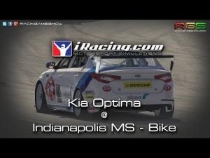 iRacing.com | Kia Optima | Indianapolis Motor Speedway - Bike Course | BTCC Style Racing