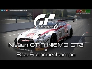 Gran Turismo 6 | GT Academy 2014 | Nissan GT-R GT3 | Spa-Francorchamps
