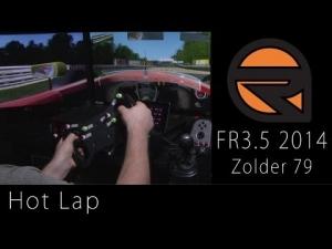 rFactor 2 Gameplay Formula Renault 3.5 2014 Zolder 79