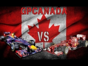 F1 2013 | GP Canadá | Alonso vs Vettel | Hasta el final...