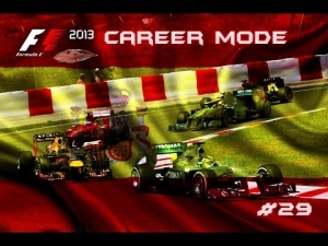 F1 2013 | Career Mode: Episode 29 - Spain: Not Our Finest Hour (S3)