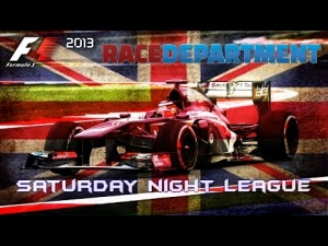 F1 2013 | RD Saturday Night League - Season 3 | R9: British Grand Prix