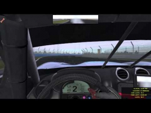 rFactor 2 - Wet racing in the EGTs @ Loch Drummond
