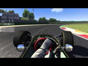 Lotus Type 49 - Vallelunga - 1.40.3  (Assetto Corsa)