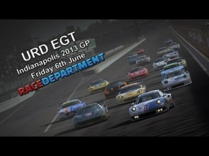 URD EGT @ Indianapolis 2013 GP - Friday 6th June 2014
