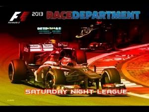 F1 2013 | RD Saturday Night League - Season 3 | R10: German Grand Prix