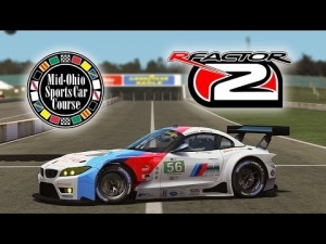 rFactor2 [HD++] ★ Bayro ES [BMW Z4 GTE] @ Mid Ohio 2.0 by Virtua LM