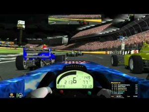 iRacing Star Mazda Official race at Charlotte Motor Speedway