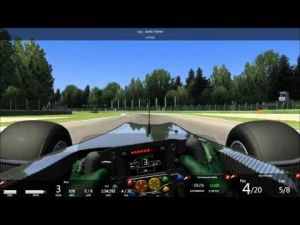 Assetto Corsa Lotus Exos 125 Online race at Imola
