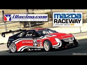 iRacing [HD++] ★ Cadillac CTS-V Racecar @ Laguna Seca