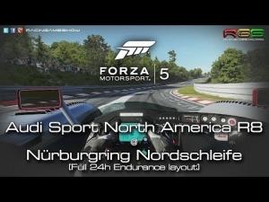 Forza Motorsport 5 | Nordschleife + GP | Audi R8 | LMP Prototype | Cockpit Cam